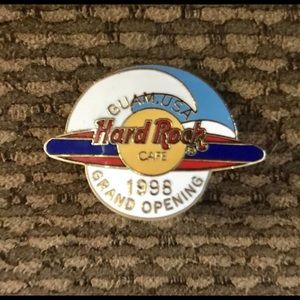 HARD ROCK CAFE - GUAM, USA 1998 GRAND OPENING PIN